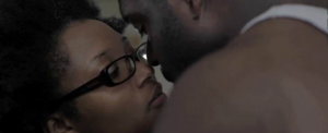 Grace (Ebbe Bassey) and Harper (Stephen Hill) enjoy an intimate momentGrace (Ebbe Bassey) and Harper (Stephen Hill) enjoy an intimate moment.