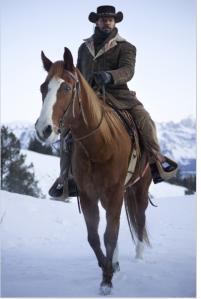 Django (Jamie Foxx) rides with confidence