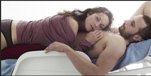 Stephanie (Marion Colliard) and Ali (Matthias Schoenaerts)