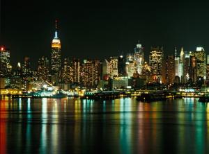 Koch's beloved city, New York