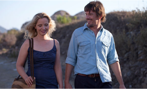 Celine (Judith Delpy) and Jesse (Ethan Hawke)