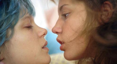 Emma (Lea Seydoux) and Adela (Adela