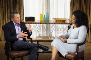 Lance Armstrong confesses to Oprah Winfrey