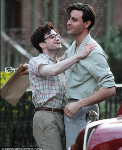 Ginsberg and Kerouac (Jack Huston) in New York