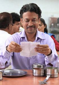 Saajan (Kirrfan Khan) reads 'love note'