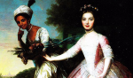 18th Century Portrait of Dido Elizabeth Belle and Lady Elizabeth Murray