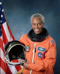 Guion Bluford, first African American in space (1983)