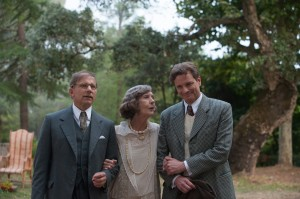 Howard (Simon McBurney), Aunt Vanessa (Eileen Atkins) and Stanley (Colin Firth)