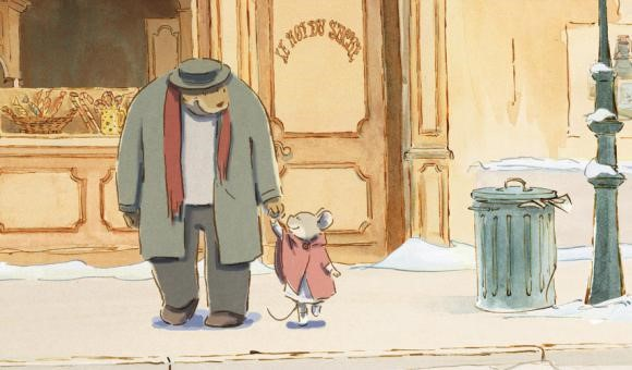 Ernest (Forest Whitaker) and Celestine (Pauline Brunner)