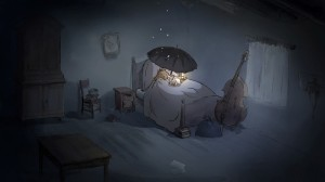 nighttime for the fugitives, Ernest & Celestine