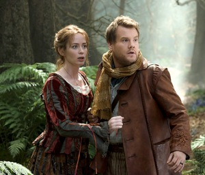 Baker's Wife (Emily Blount) and Baker (James Corden)