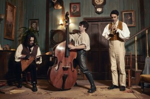 Vladislov (Jermaine Clement), Deacon (Jonathan Brugh), and Viago (Jemaine Clement)