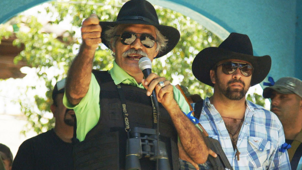 Dr. Jose Manuel Mireles, the charismatic leader of the Autodefensas