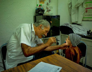 Dr. Mireles treats a member of his community
